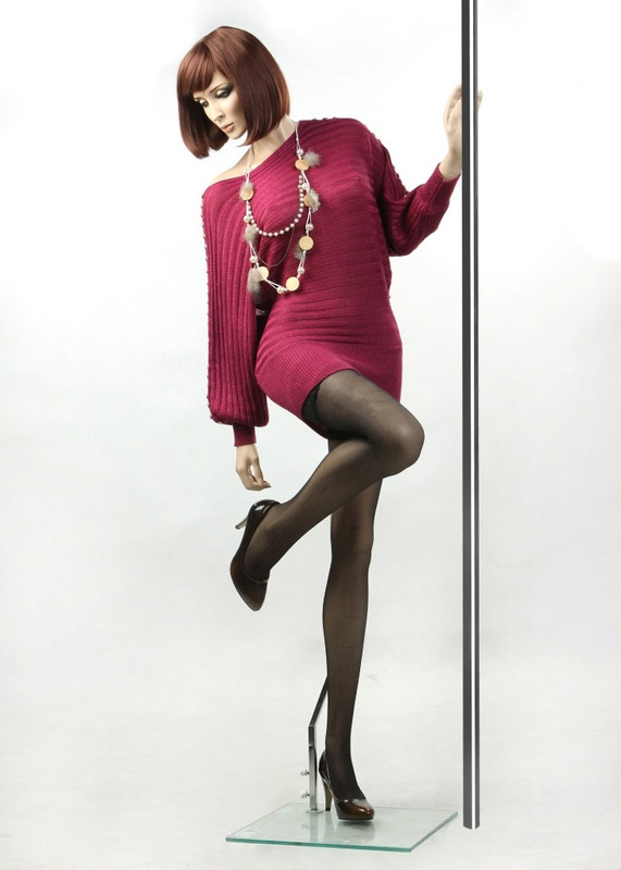 Fiberglass Fleshtone Female Mannequin MM-ZARA3 SALE