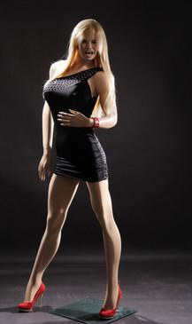 Fiberglass Fleshtone Female Mannequin MM-VIS1 SALE
