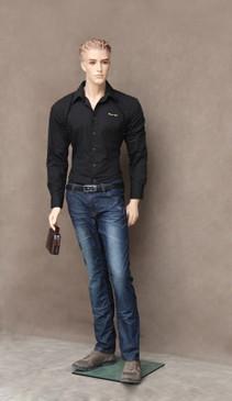 Free Shipping Fiberglass Fleshtone Male Mannequin MM-WEN03