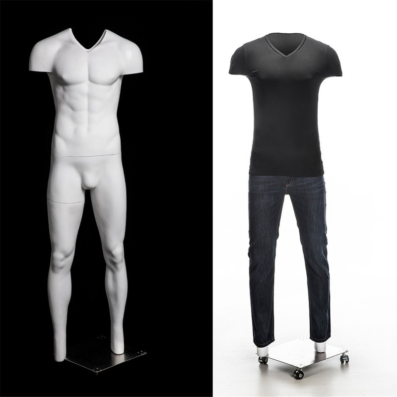 """Casper 1, Fiberglass Invisible Male """"Ghost"""" Mannequin MM-GH03"""