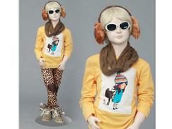 Unisex Realistic Child Mannequin Fleshtone MM-ITA03