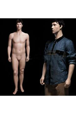 Realistic Plus Size Male Mannequin Fleshtone MM-PLUSMAN-01