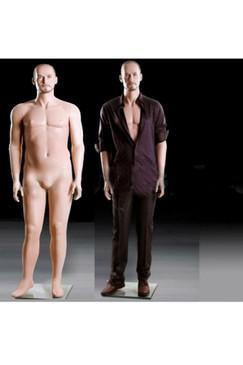 Realistic Plus Size Male Mannequin Fleshtone MM-MIK-04