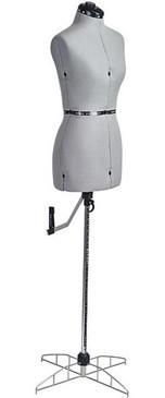 Gray Adjustable Dress Form size Medium (MM-12732924FM)