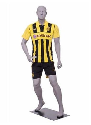 Michael Bradley, Soccer Player Male Mannequin Matte Light Grey MM-CRIS02