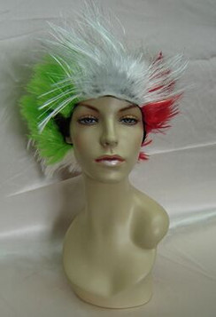 Multi-Color Female Costume Wig - MM-SW087