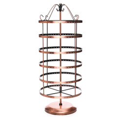 "Boutique Earring Rotating Holder Display 18.5"" H"