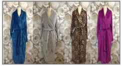 Luxurious Plush Women's Robes