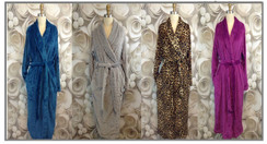 Luxurious Plush Women's Robes