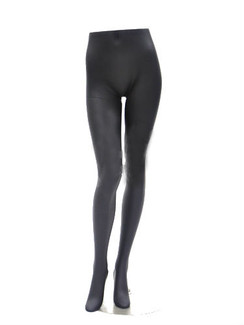 Matte Black Female Display Leg Form MM-FL9BLK