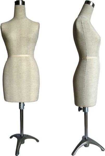 Mini Half Scale Professional Pinnable Dress Form MM-182