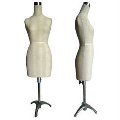 Mini Half Scale Professional Pinnable Dress Form MM-182