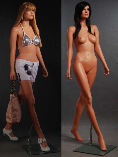 Free Shipping Fiberglass Fleshtone Female Mannequin MM-LISA11