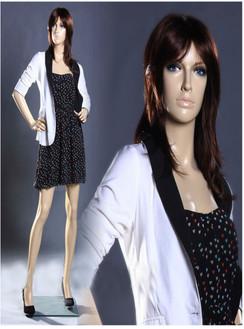 Free Shipping Fiberglass Fleshtone Female Mannequin MM-ZARA01