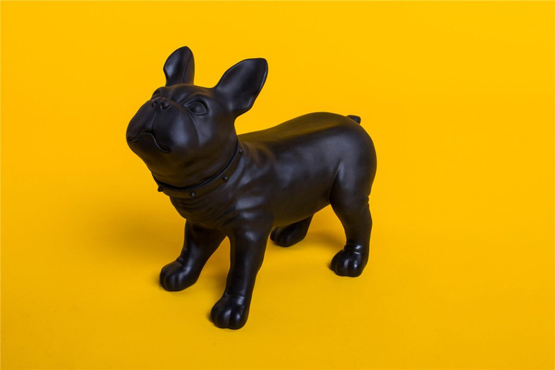 Dog Mannequin: French Bulldog color Black