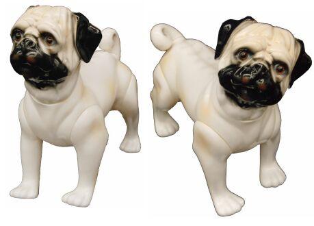 Dog Mannequin - Pug MM-DOG004