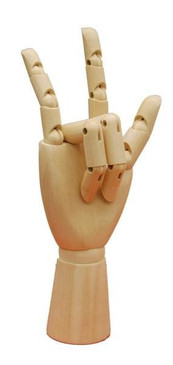 Wooden Female Display Hand MM-JW-FWHAND