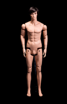 Flexible Realistic Articulated Male Mannequin Fleshtone MM-HM01