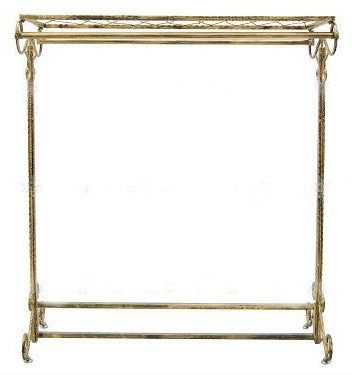 Bronze Finish Boutique Garment Rack MM-TYJL08