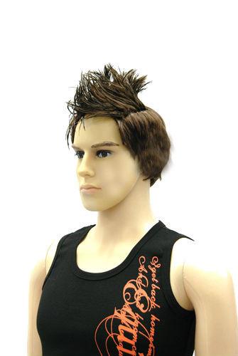 Light Brown Male Mannequin Wig - MM-HMW410-2