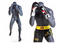 Floyd Mayweather, Matte Grey Boxing Male Mannequin MM-Boxing01
