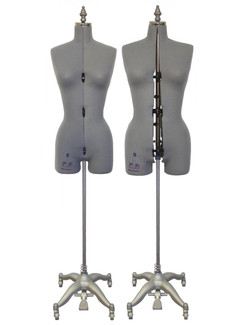 Adjustable Sewing Dress Forms (ADF6001, Grey)
