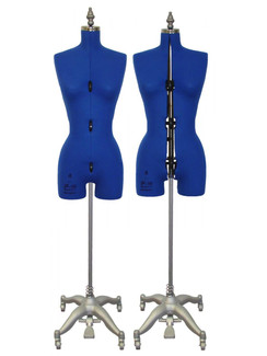 Adjustable Sewing Dress Forms (ADF6001, Blue)
