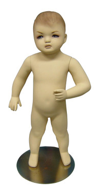 Standing Baby Fleshtone Child Mannequin MM-201