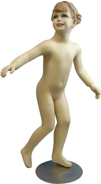 Running Girl Fleshtone Child Mannequin MM-514