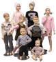 Children Mannequins Fleshtone Group