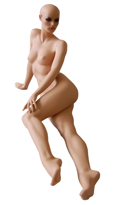 Reclining Female Mannequin Tan Skin Tone MM-FR11