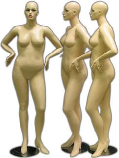Plus Size Female Mannequin MM-166
