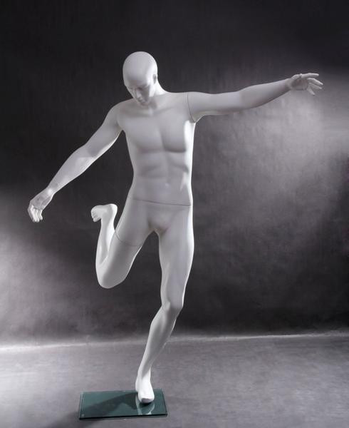 Tommy, Male Sports Abstract Soccer Mannequin MM-TQ1