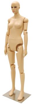 Flexible Female Mannequin Fleshtone MM-FFXF