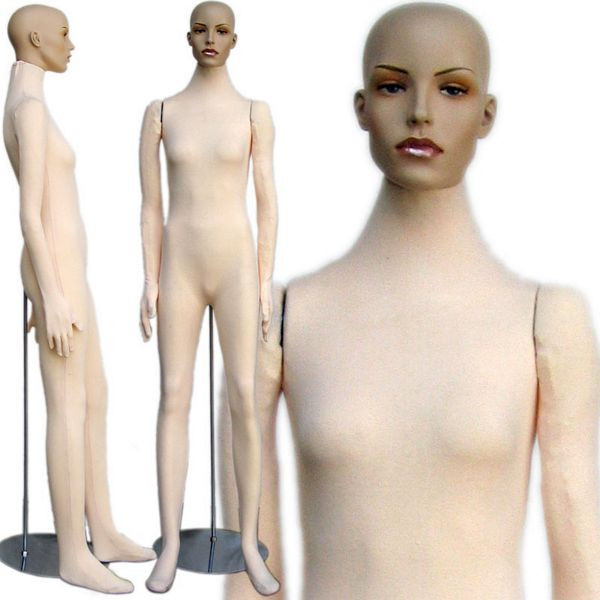 Flexible Foam Female Mannequin MM-404
