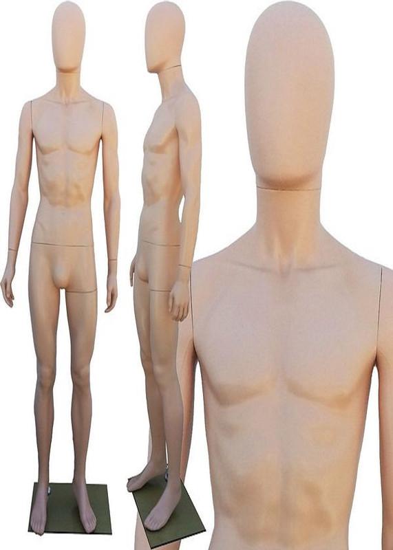 Plastic Male Mannequin Fleshtone PS-251