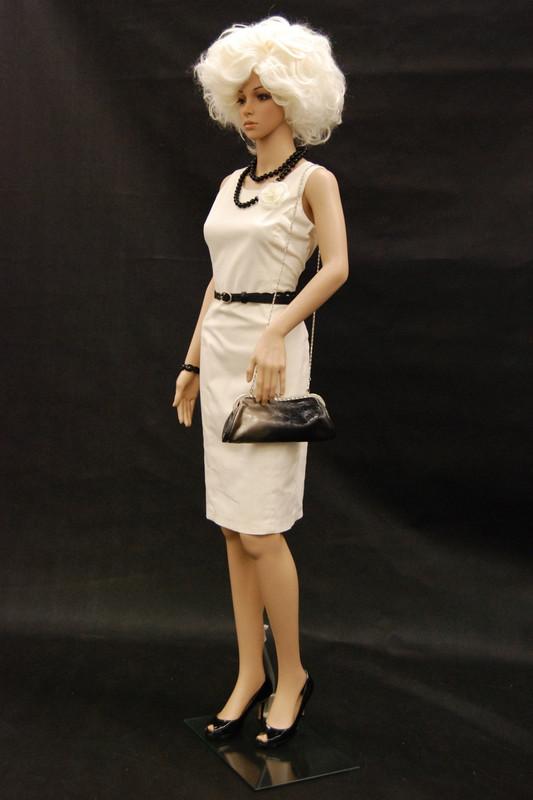 Realistic Plastic Female Mannequin Fleshtone PS-G03-2