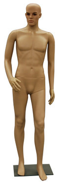 Realistic Plastic Male Mannequin Fleshtone PS-Kenny
