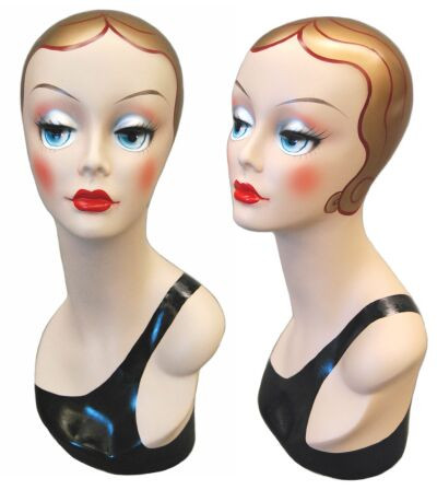 Vintage Female Display Head item # MM-VF002