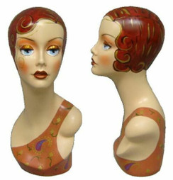 Vintage Female Display Head item # MM-VF003