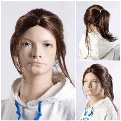 Female Teen Mannequin Wig - MM-BC04