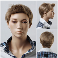 Male Teen Mannequin Wig - MM-BC08