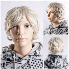 Male Teen Mannequin Wig - MM-BC05