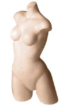 Fleshtone Female Athletic Headless Torso MM-TF20