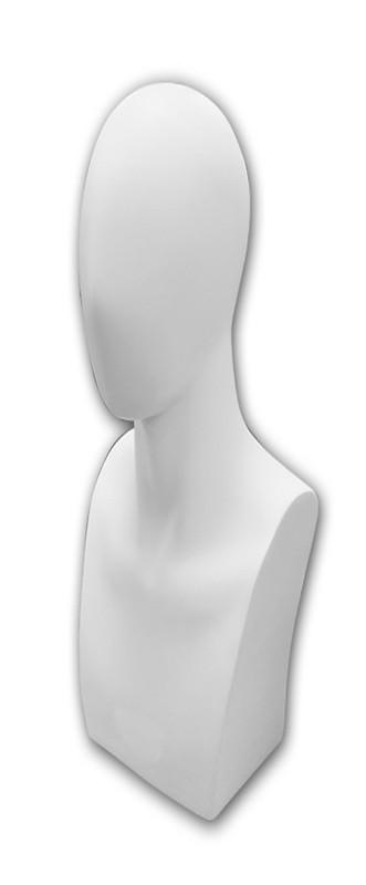 Male Display Head MM-HD86M-WHT