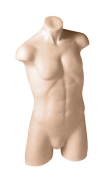 Fleshtone Male Athletic Headless Torso MM-TM80