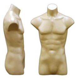 Fleshtone Male Headless Torso MM-149F