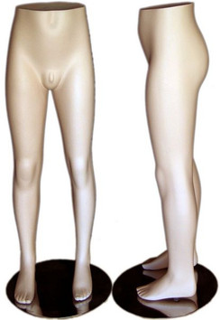 Fleshtone Teenage Boy Mannequin Leg Form MM-341