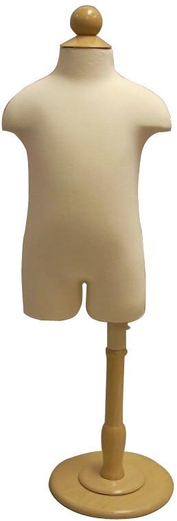 Child Hard Foam Dress Forms w/Base MM-JF-C11C6M
