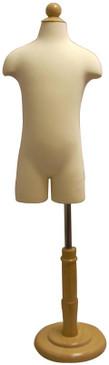 Child Hard Foam Dress Forms w/Base 4 Y.O. MM-JF-C11C4T